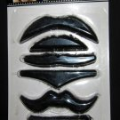 Fake Mustaches 7 Piece Assorted Set Mens Costume Party Must Have