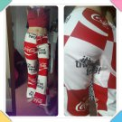 Vintage 70s COKE COCA COLA It's The Real Thing!  Novelty Print Bell Bottom Hippie Pants M/L