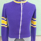 Vintage 70s NFL Stah Urban Boy's Sports Team Varsity Sweater