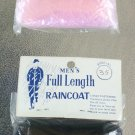 Vintage 50s 60s HIS & HERS Plastic Ladies & Mens Full Length Raincoats Foldup NIP set of 2