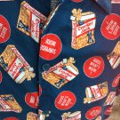 CRACKER JACKS Surprise Inside Novelty Print Mens RETRO Shirt Sz M wOw!