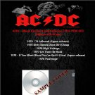 ACDC - Album Rarities & Live Collection 1974-1978 (6CD)