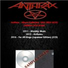 Anthrax - Album Collection 2011-2016 (4CD)