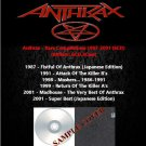 Anthrax - Rare Compilations 1987-2001 (6CD)