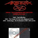 Anthrax - Rare Compilations 2002-2005 (5CD)