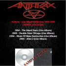 Anthrax - Live Album Collection 1994-2008 (4CD)