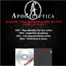 Apocalyptica - Album Special & Bonus 1996-2003 (5CD)