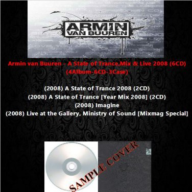 Armin van Buuren - A State of Trance,Mix & Live 2008 (6CD)