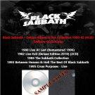 Black Sabbath - Deluxe Album & live Collection 1980-1995 (6CD)