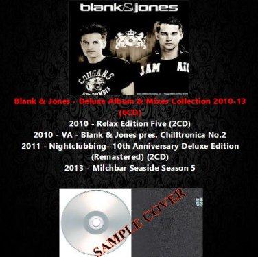 Blank & Jones - Deluxe Album & Mixes Collection 2010-13 (6CD)
