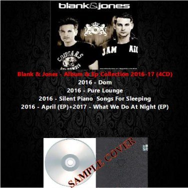 Blank & Jones - Album & Ep Collection 2016-17 (4CD)