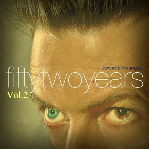 David Bowie - Fifty Two Years Vol.2-Complete Singles Remastered 2016 (6CD)