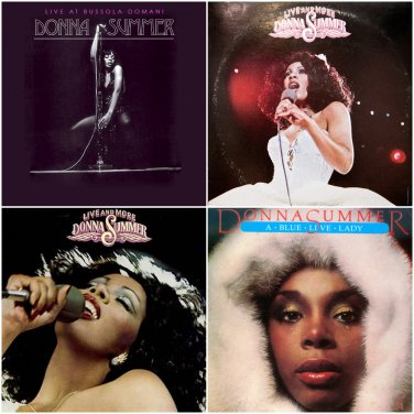 Donna Summer - Live Collection 1977-1983 (4CD)