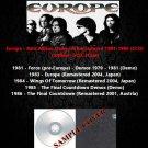Europe - Rare Album,Demos & Remastered 1981-1986 (5CD)