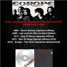 Europe - Special,Japanese & Remastered Edition 2006-2016 (6CD)