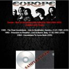 Europe - Rare & Unreleased Live Collection 1989-2004 (6CD)
