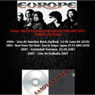 Europe - Rare & Unreleased Live Collection 2004-2007 (6CD)