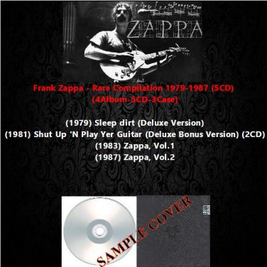 Frank Zappa - Rare Compilation 1979-1987 (5CD)