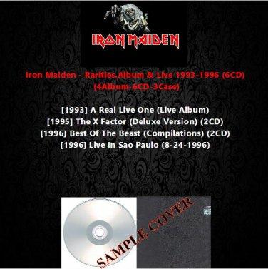 Iron Maiden - Rarities,Album & Live 1993-1996 (6CD)