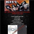 Kiss - Album Rarities Collection 1974-1976 (6CD)