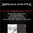 Megadeth - Album Deluxe & Live Compilation 1990-1995 (6CD)