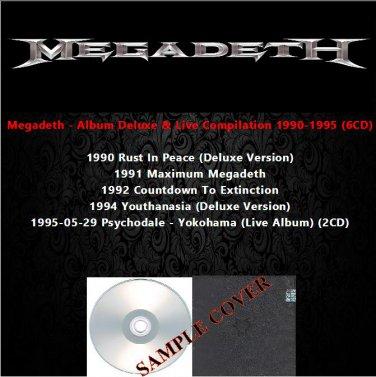 Megadeth - Album Deluxe & Live Compilation 1990-1995 (6CD)