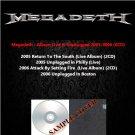 Megadeth - Album Live & Unplugged 2005-2006 (6CD)