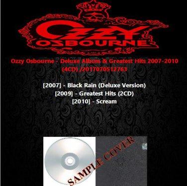 Ozzy Osbourne - Deluxe Album & Greatest Hits 2007-2010 (4CD)