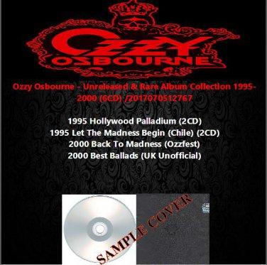 Ozzy Osbourne - Unreleased & Rare Album Collection 1995-2000 (6CD)