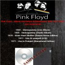 Pink Floyd - Album Live Deluxe & Remastered 1969-1971 (6CD)