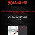 Rainbow - Elf Albums72-75/Ritchie Black Rainbow/Rising 75-76 (5CD)