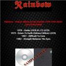 Rainbow - Deluxe Album & Live Rarities 1978-1982 (6CD)