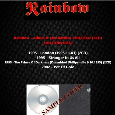 Rainbow - Album & Live Rarities 1994/2002 (6CD)