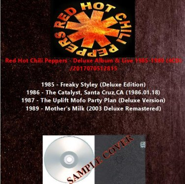 Red Hot Chili Peppers - Deluxe Album & Live 1985-1989 (4CD)