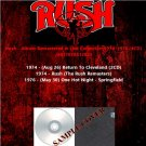 Rush - Album Remastered & Live Collection 1974-1976 (4CD)