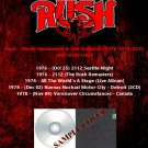 Rush - Album Remastered & Live Collection 1976-1978 (6CD)