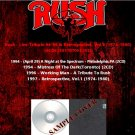 Rush - Live-Tribute 94-96 & Retrospective Vol.1 74-80 (6CD)