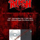 Rush - Different Stages & Retrospective Vol.2 81-87 (4CD)