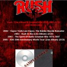 Rush - Live Album & Greatest Hits 2002-2005 (6CD)
