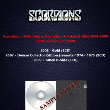 Scorpions - Gold,Deluxe Remasters & Taken B-Side 2006-2009 (6CD)