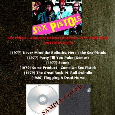 Sex Pistols - Album & Demos Collection 1977-1980 (6CD)