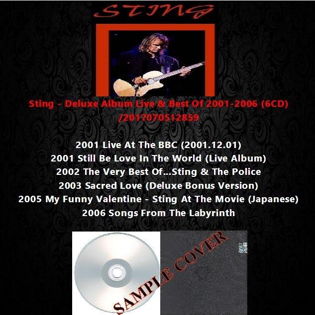 Sting - Deluxe Album Live & Best Of 2001-2006 (6CD)