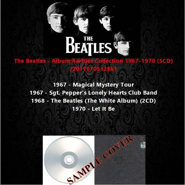 The Beatles - Album Rarities Collection 1967-1970 (5CD)