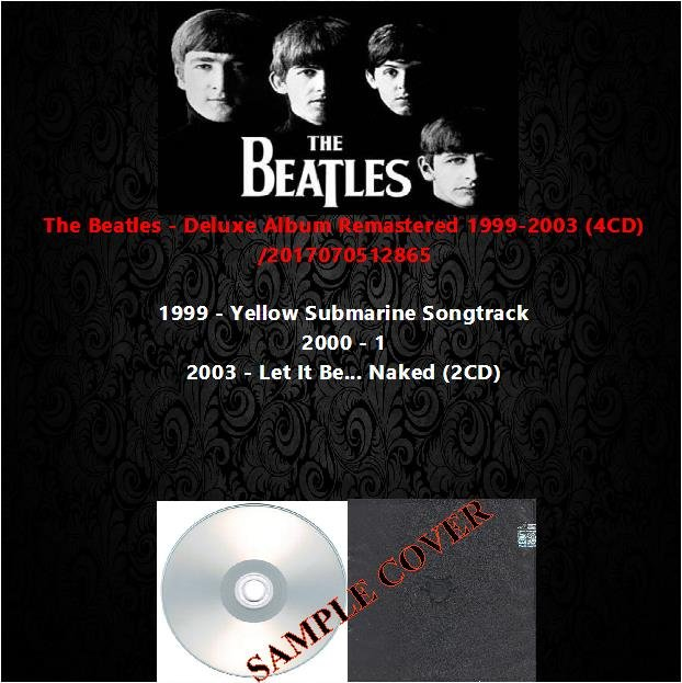 The Beatles - Deluxe Album Remastered 1999-2003 (4CD)