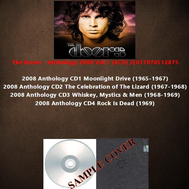 The Doors - Anthology 2008 Vol.1 (4CD)