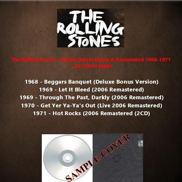 The Rolling Stones - Album Deluxe Bonus & Remastered 1968-1971 (6CD)