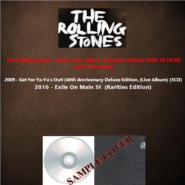 The Rolling Stones - Deluxe Live Album & Rarities Edition 2009-10 (4CD)