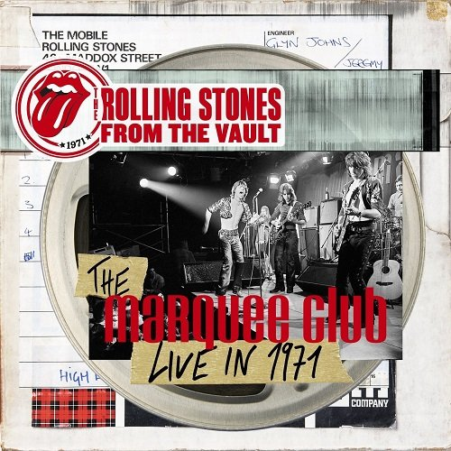 The Rolling Stones - The Marquee Club Live in 1971 (2015) (3CD)