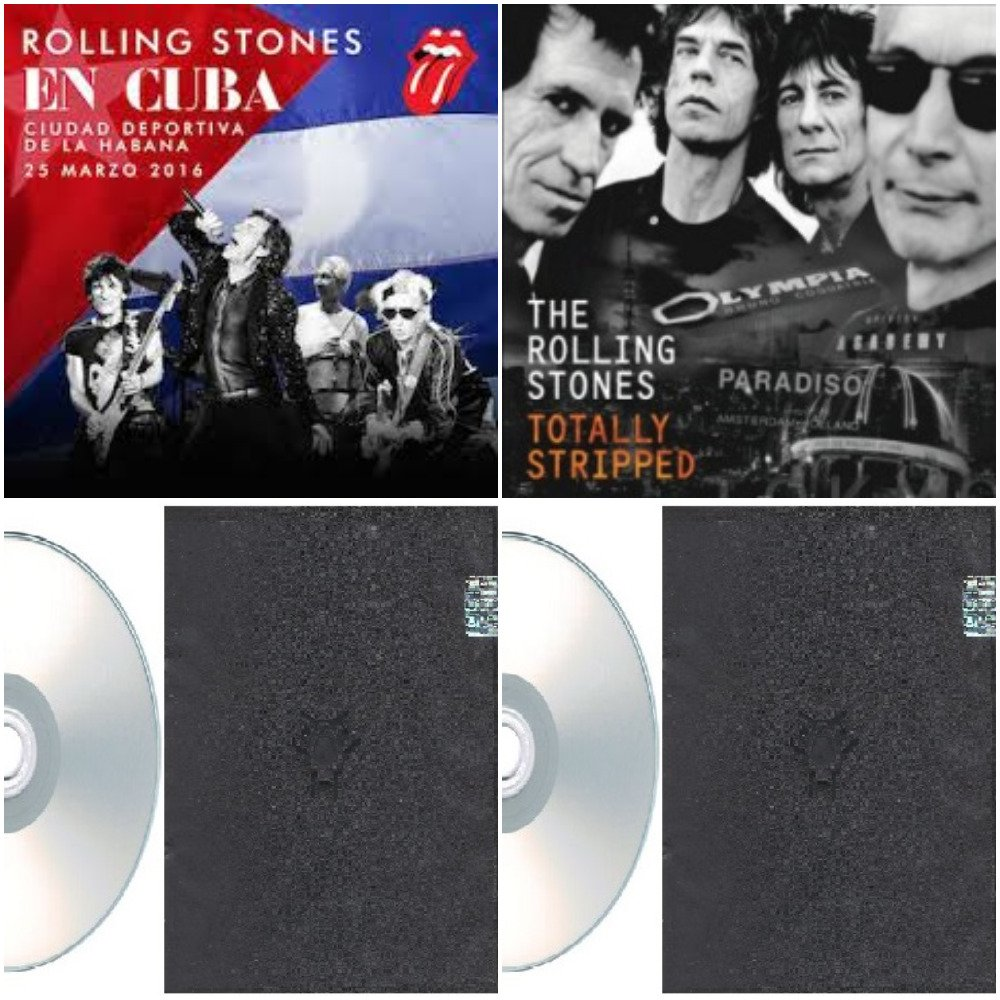 The Rolling Stones - Live In Cuba & Totally Stripped 2016 (4CD)