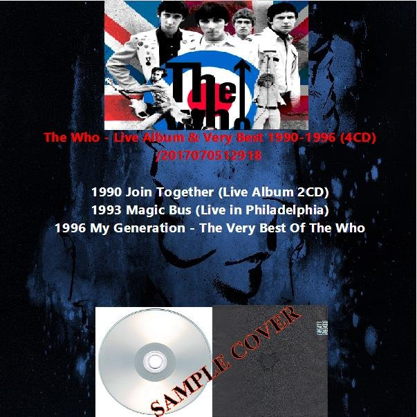 The Who - Live Album & Very Best 1990-1996 (4CD)